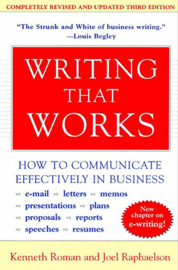 Writing That Works, 3rd Edition book