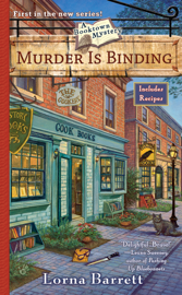 Murder Is Binding book