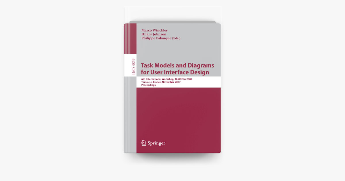 Diagram  Task Models And Diagrams For User Interface