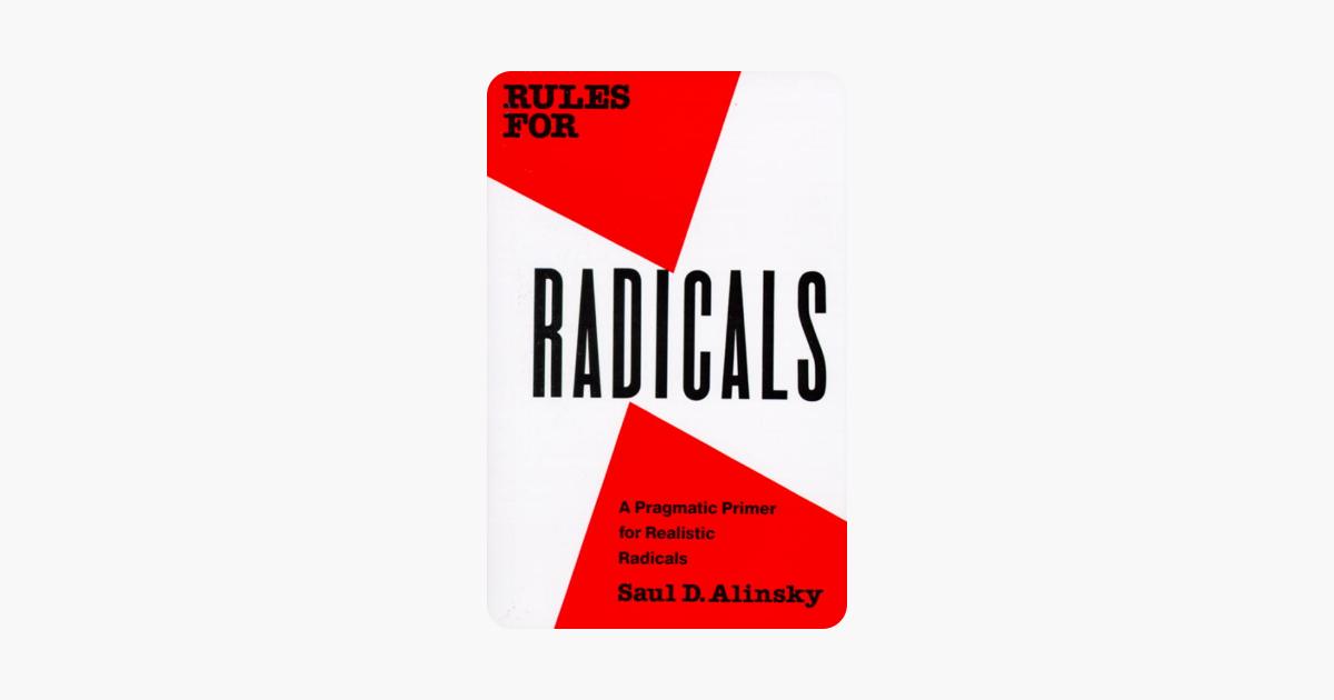 Rules for Radicals - Saul Alinsky