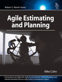 Agile Estimating and Planning book