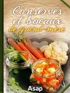 Conserves et bocaux de grand-mère La couverture du livre martien