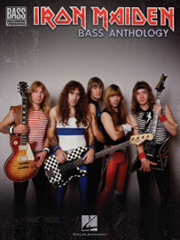 Iron Maiden Bass Anthology (Songbook) book