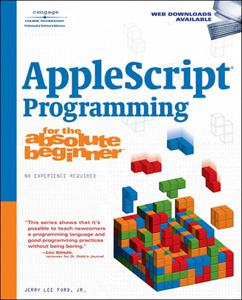 AppleScript Programming for the Absolute Beginner Copertina del libro