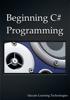 Jason Lim - Beginning C# Programming artwork