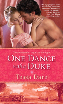 Tessa Dare - One Dance with a Duke book