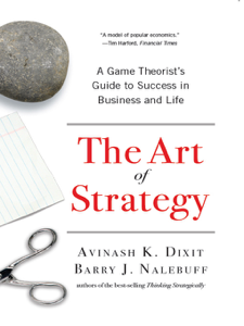 The Art of Strategy: A Game Theorist's Guide to Success in Business and Life Buch-Cover