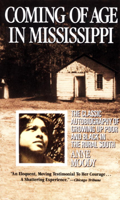 Coming of Age in Mississippi - Anne Moody book