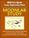 NASA Post-Apollo Lunar Exploration Plans Moonlab Study - Semi-Permanent Lunar Surface Observatory Concept Personnel Life Support Lunar Farm Moon Base Layout And Design