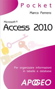 Access 2010 Copertina del libro