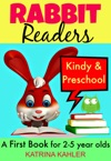 Rabbit Readers First Book - Kindy  Preschool 5 Very Simple Learn To Read Stories For Beginning Readers