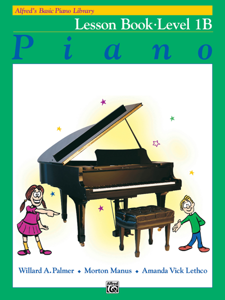 Alfred's Basic Piano Library - Lesson 1B