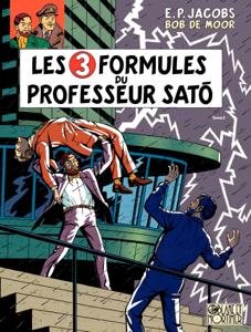Blake et Mortimer - Tome 12 - 3 Formules du Professeur Sato T2 (Les) La couverture du livre martien
