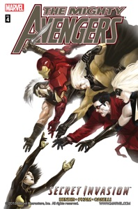 The Mighty Avengers, Vol. 4: Secret Invasion, Book 2 Book Cover