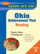 Ready, Set, Go! Ohio Achievement Test, Grade 8 Reading (REA)