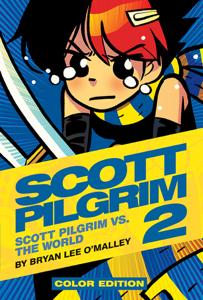 Scott Pilgrim Color Volume 2 Book Cover