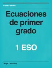 Ecuaciones De Primer Grado, 1ºESO