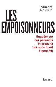Les Empoisonneurs La couverture du livre martien