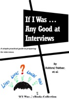 If I Was ... Any Good at Interviews