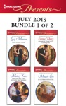 Harlequin Presents July 2013 - Bundle 1 Of 2