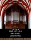 JS Bach Cello Suite No 5