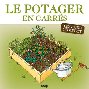 Le potager en carrés - Le guide complet La couverture du livre martien