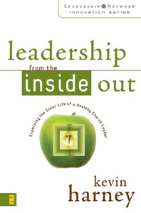 Leadership from the Inside Out de Kevin G. Harney Capa de livro