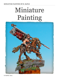 Miniature Painting book