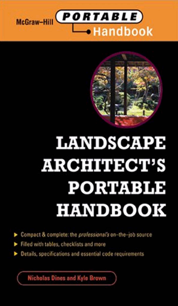 Landscape Architect's Portable Handbook