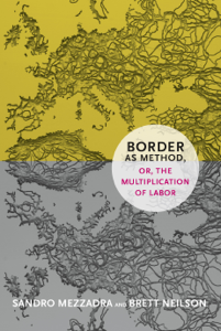 Border as Method, or, the Multiplication of Labor La couverture du livre martien