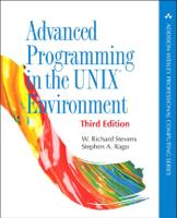 W. Richard Stevens & Stephen A. Rago - Advanced Programming in the UNIX Environment, 3/e artwork