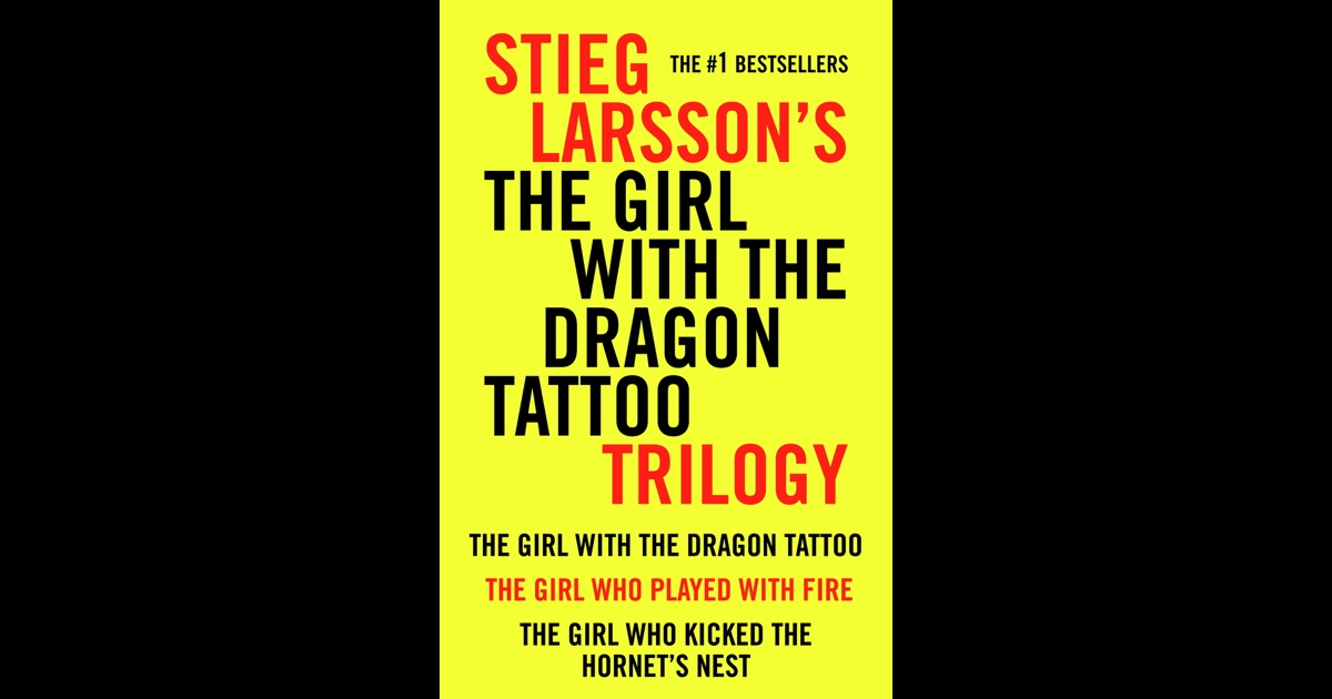 The girl with the dragon tattoo trilogy by stieg larsson for The girl with the dragon tattoo soundtrack