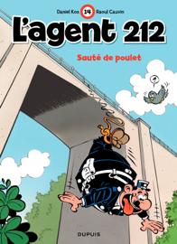 L'Agent 212 – tome 14 - Saute de poulet