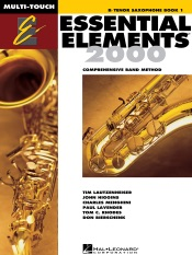 Essential Elements 2000 - Book 1 for B-flat Tenor Saxophone (Textbook)
