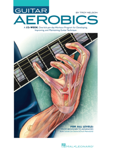 Guitar Aerobics (with Audio) Copertina del libro
