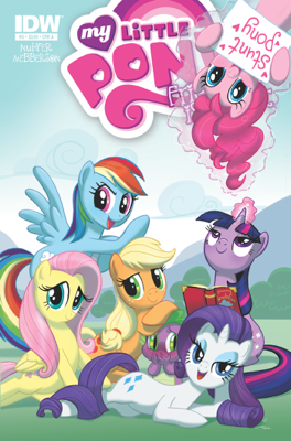 My Little Pony: Friendship is Magic #5 - Heather Nuhfer & Amy Mebberson book