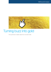 Turning Buzz Into Gold: How Pioneers Create Value from Social Media