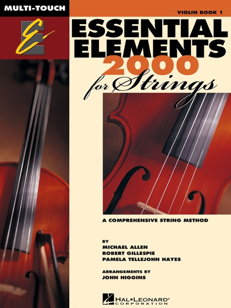 Essential Elements 2000 for Strings - Book 1 for Violin (Textbook)
