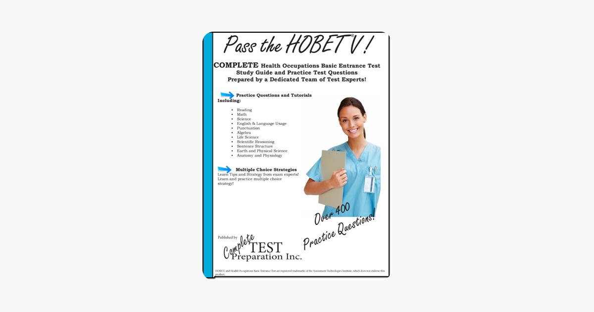 Pass the HOBET V