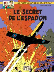Blake & Mortimer - Tome 01 - Le secret de l'Espadon La couverture du livre martien