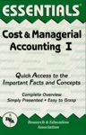 Cost  Managerial Accounting I Essentials