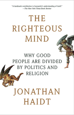 The Righteous Mind - Jonathan Haidt book