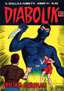 DIABOLIK (101) Copertina del libro