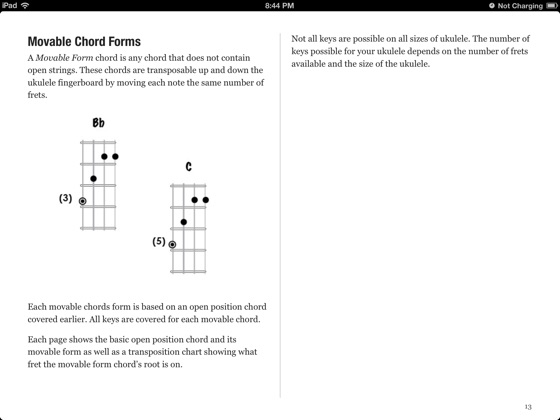 Ukulele Chords - C Tuning on Apple Books