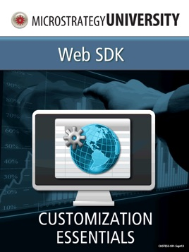 Customization Essentials for MicroStrategy Web SDK on Apple