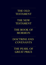 The LDS Scriptures - The LDS Quadruple Combination book