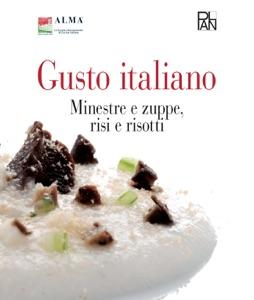 Gusto Italiano - Minestre e zuppe, risi e risotti Book Cover