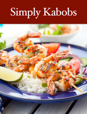 Simply Kabobs - Andrew Kissée book