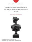The Path to the Spiders' Nests/Il Sentiero Dei Nidi Di Ragno (Part II FICTIONAL Narratives) (Excerpt) Book Cover
