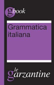 Grammatica italiana Copertina del libro